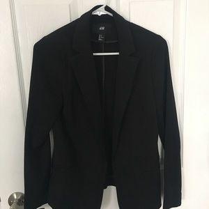 H&M Black Blazer - size 2 (XS)